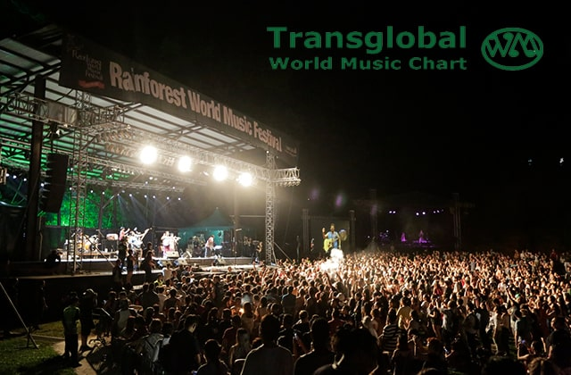 "RWMF places in ""Global Top 10"" in Transglobal World Music Chart's Festival Awards"